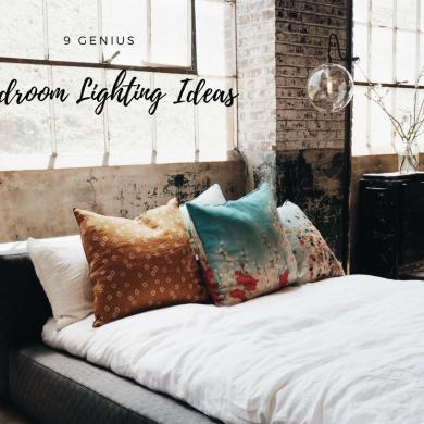 8 Genius Bedroom Lighting Ideas You've Never Considered Before!
