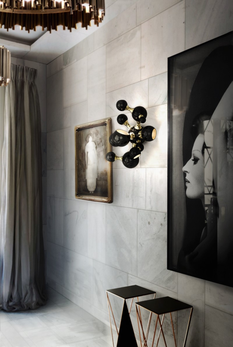 Black Finishes What Is Hot On Pinterest: Black Finishes! atomic wall ambience 01 HR