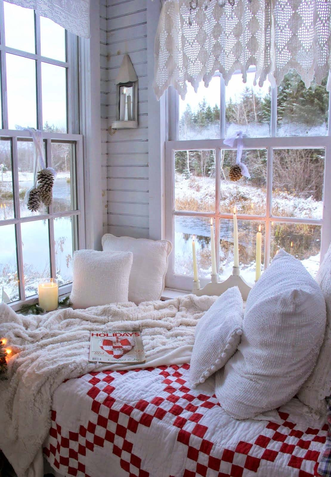 What's Hot On Pinterest The Coziest Winter Bedrooms 3