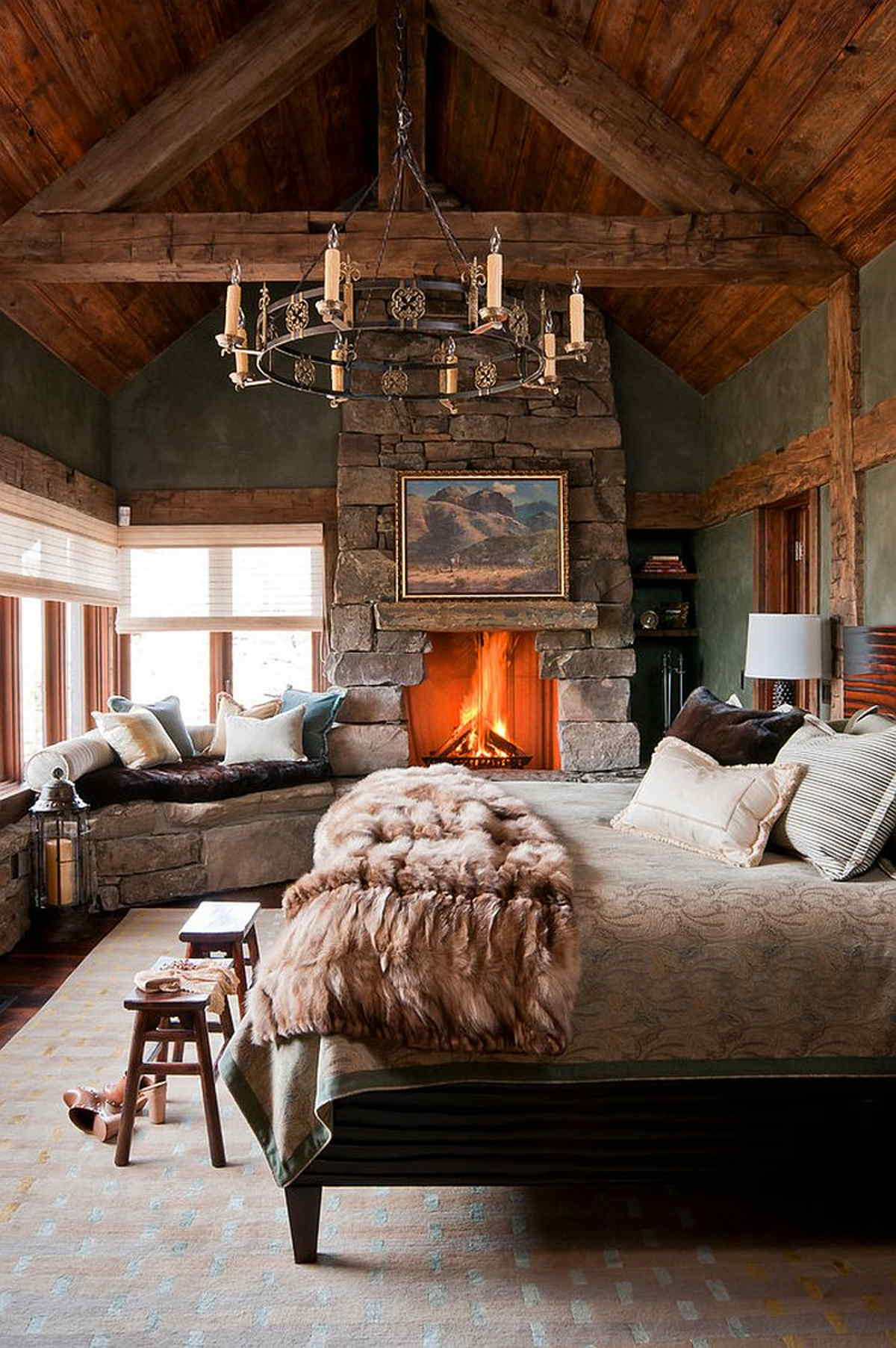 What's Hot On Pinterest The Coziest Winter Bedrooms 4
