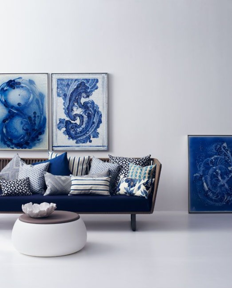 What is Hot on Pinterest: Navy Blue All Over the Place!