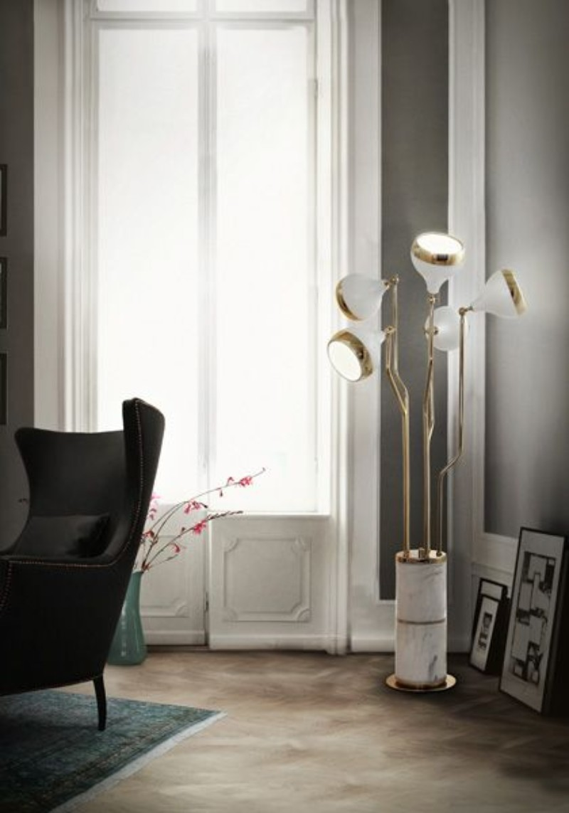 What is Hot on Pinterest: Floor Lamps to Complete Your Living Room Décor!