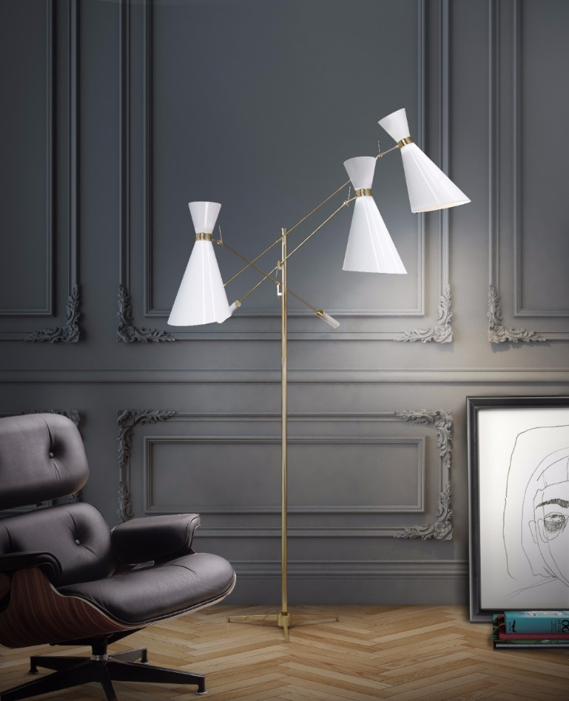It's Snow Time: Be Inspired By These 5 White Mid Century Lamps! white mid century lamps It's Snow Time: Be Inspired By These 5 White Mid Century Lamps! 2