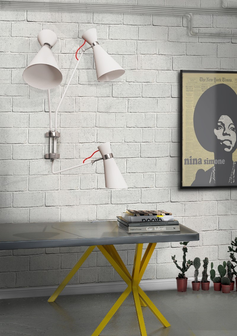 It's Snow Time: Be Inspired By These 5 White Mid Century Lamps!