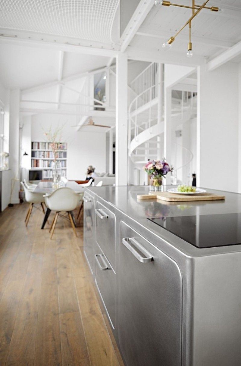 Paris is Calling! A Romantic Industrial Kitchen Décor In The City Of Love!