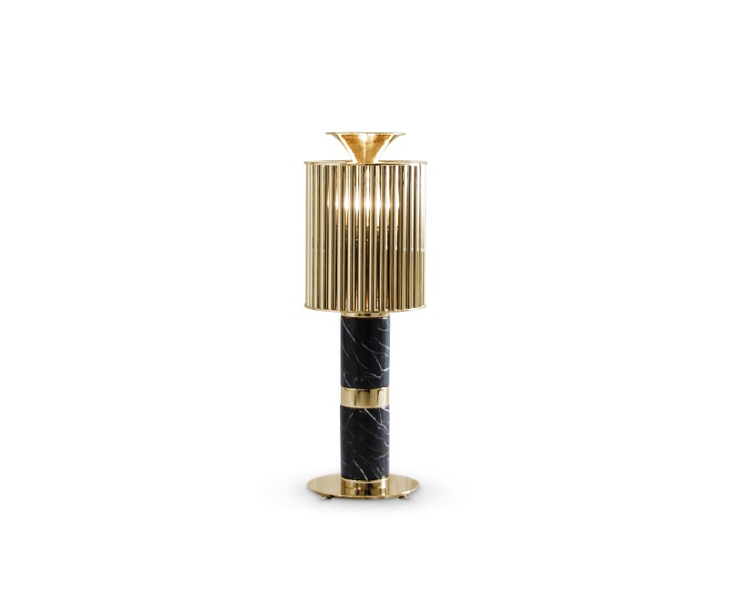 gold plated lamps