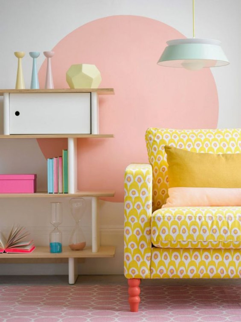 pastel colors décor