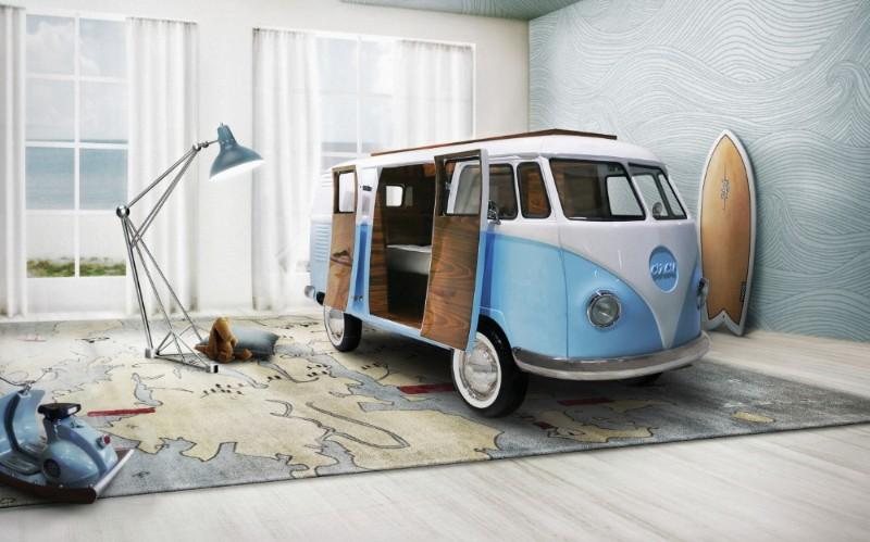 Wie man das perfekte Mid Century Schlafzimmer baut!