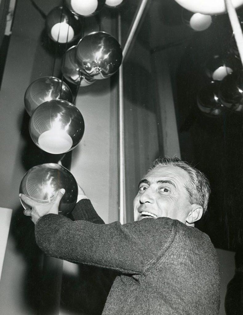 Design Talks Gino Sarfatti Lighting Movement 1
