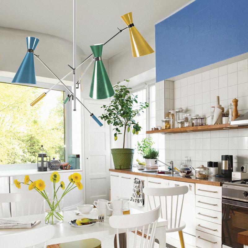 Color En Conbinación Com Las Mejores y Más Clásicas Lámparas (6)