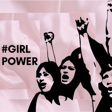 Girl Power Desejamos A Todos Um Feliz Dia Da Mulher