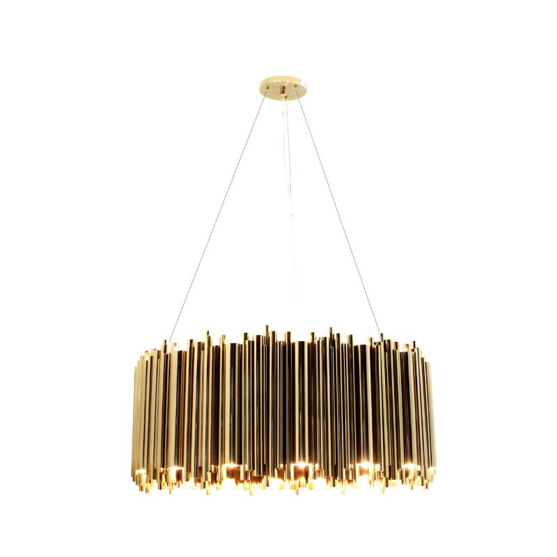 Lámparas Con Detalles De Oro Para Tu Interiorismo de Lujo (3)