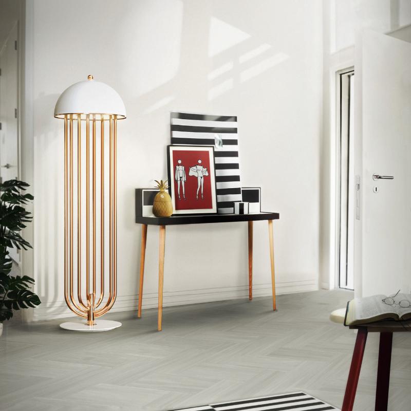 Lámparas Con Detalles De Oro Para Tu Interiorismo de Lujo (4)