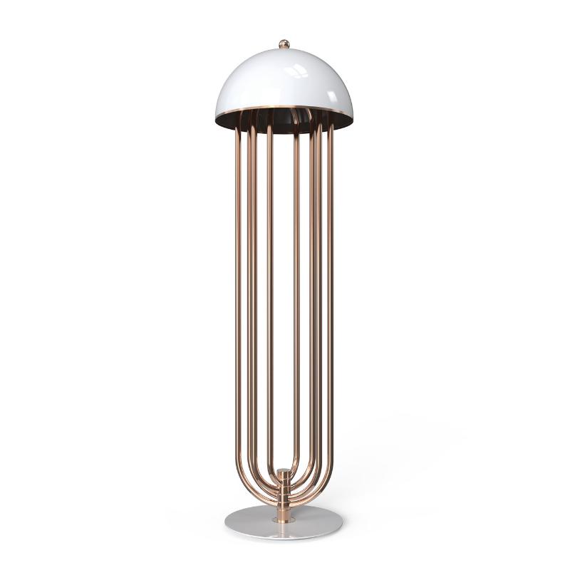 Lámparas Con Detalles De Oro Para Tu Interiorismo de Lujo (5)