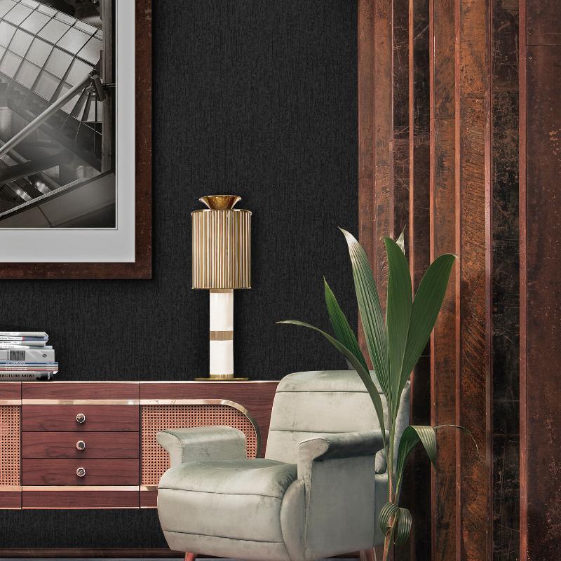Lámparas Con Detalles De Oro Para Tu Interiorismo de Lujo (6)