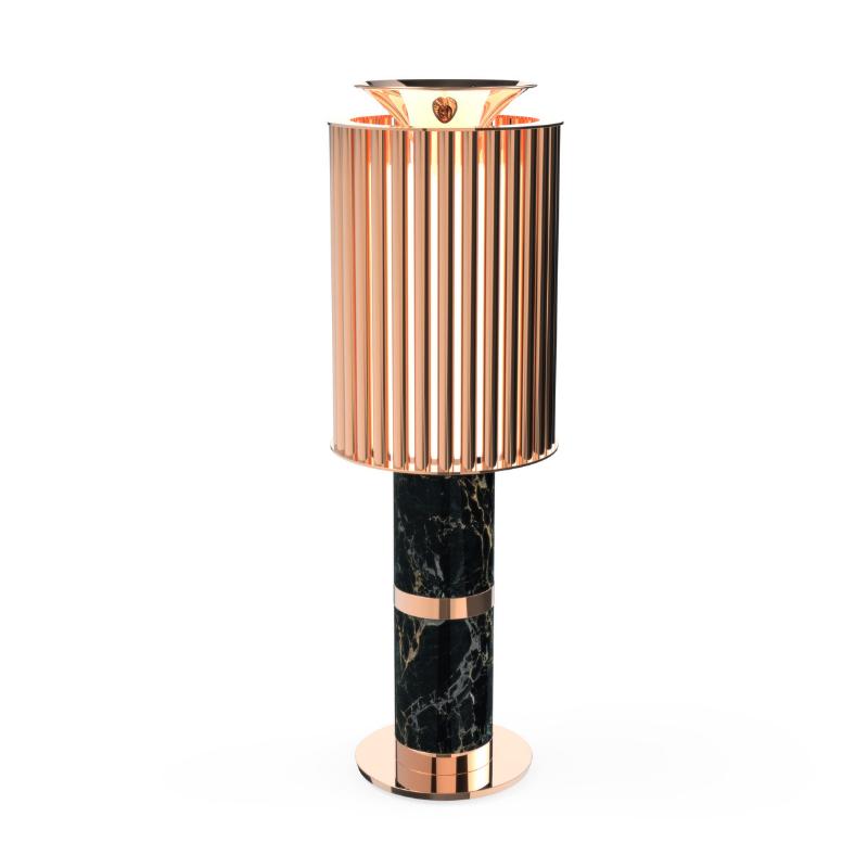 Lámparas Con Detalles De Oro Para Tu Interiorismo de Lujo (7)