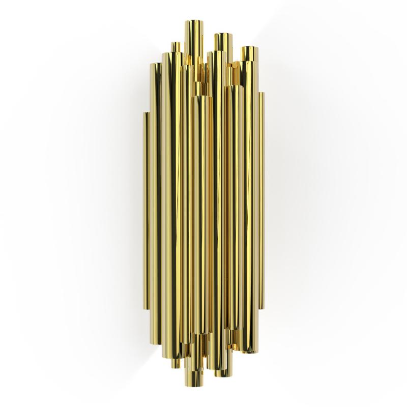 Lámparas Con Detalles De Oro Para Tu Interiorismo de Lujo (9)