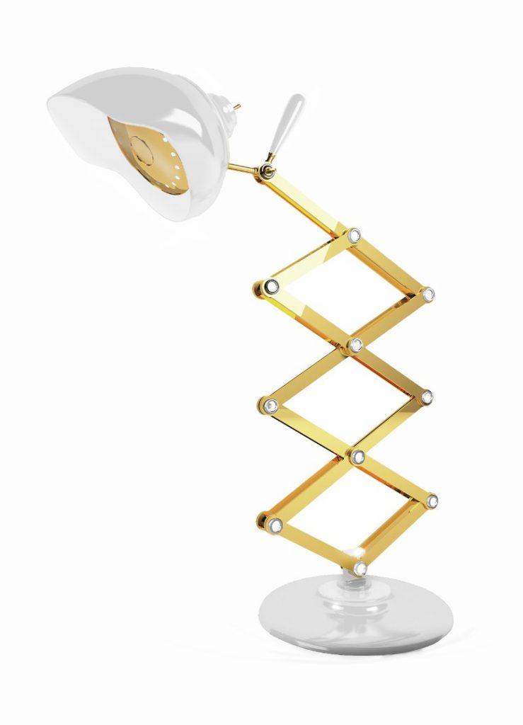 Die besten Mid Century Gold Lampen!