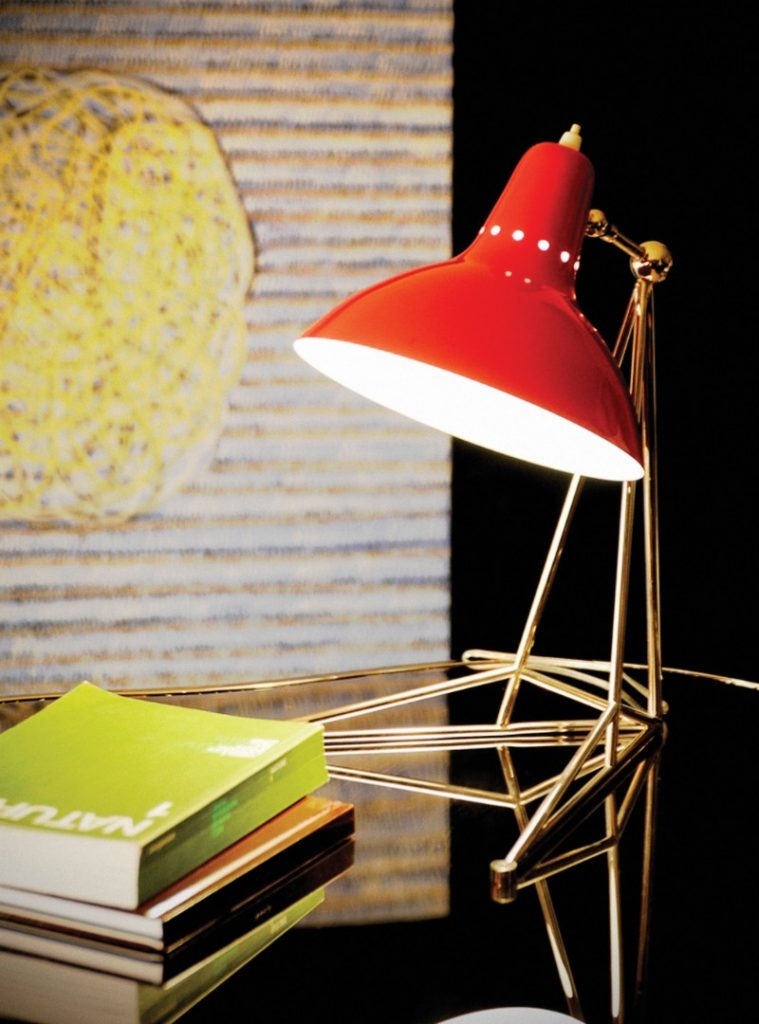 The Best Mid Century Table Lamps that will Enlighten iSaloni 2019!