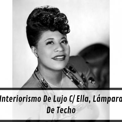 Interiorismo De Lujo C_ Ella, Lámpara De Techo