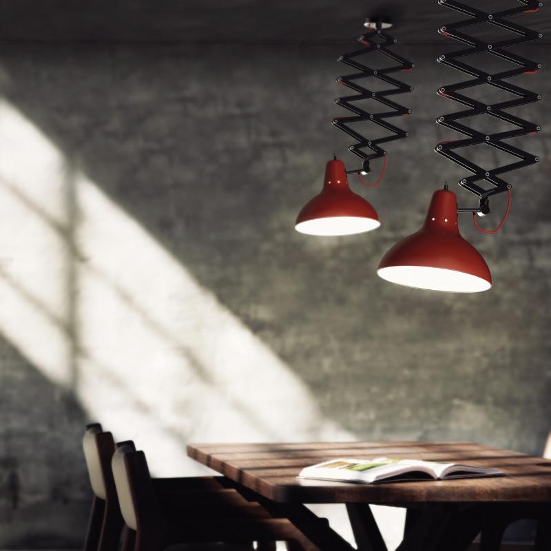 Lámparas Rojas Que Van Completar El Interiorismo de Tu Casa (2)