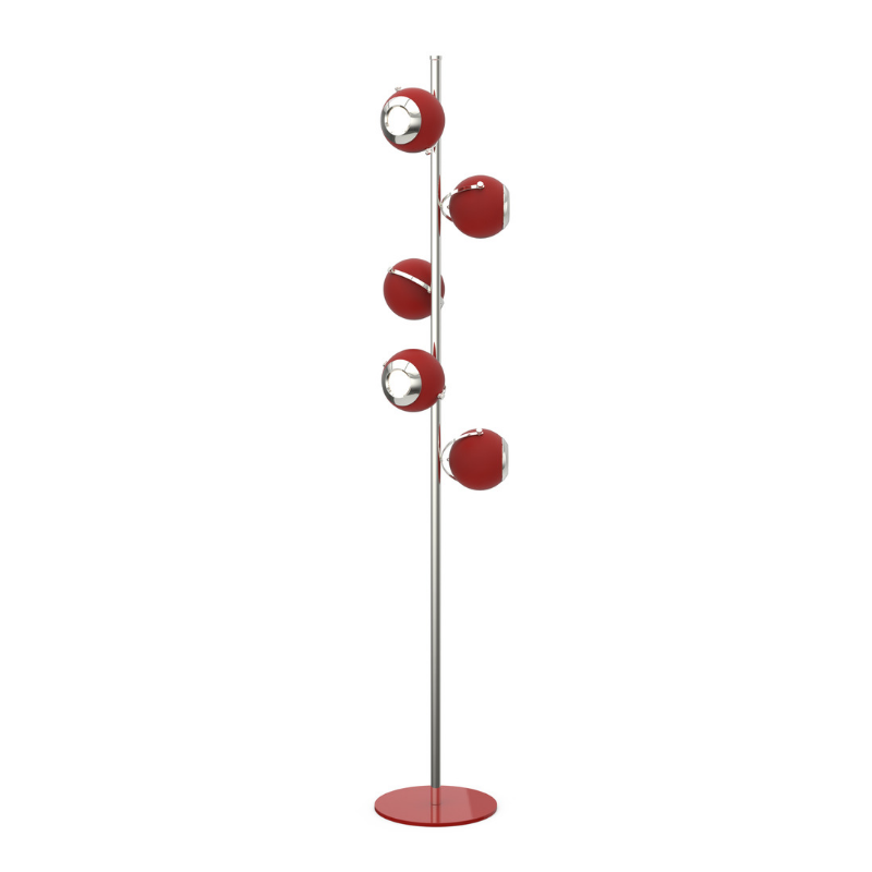 Lámparas Rojas Que Van Completar El Interiorismo de Tu Casa (5)