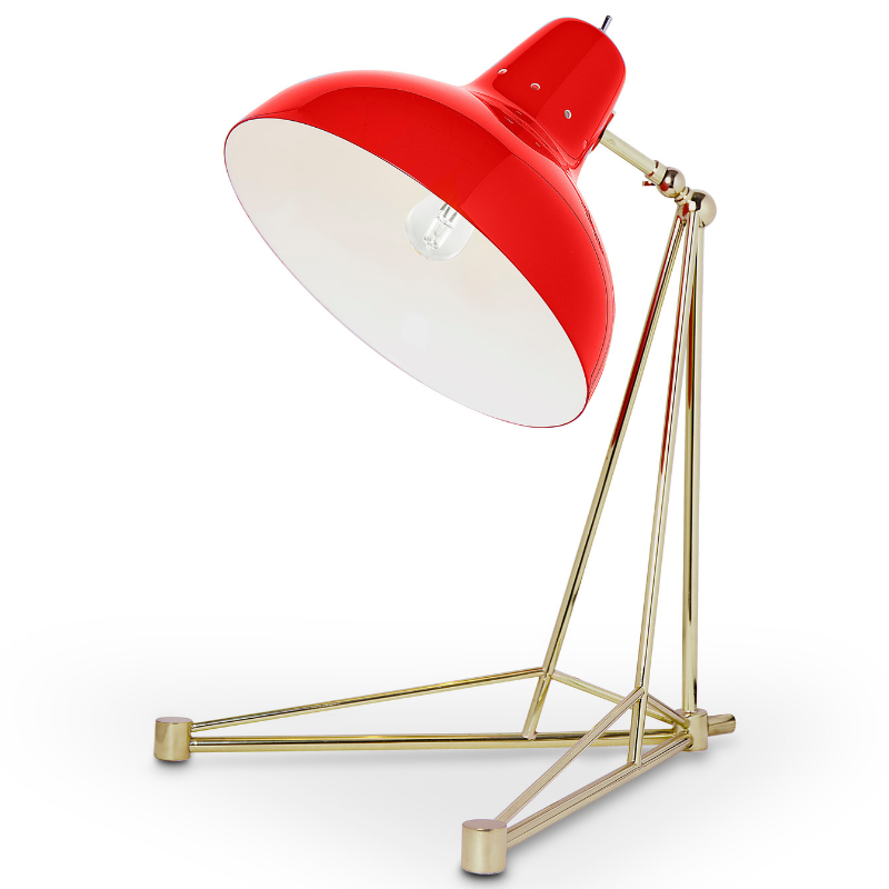 Lámparas Rojas Que Van Completar El Interiorismo de Tu Casa (6)