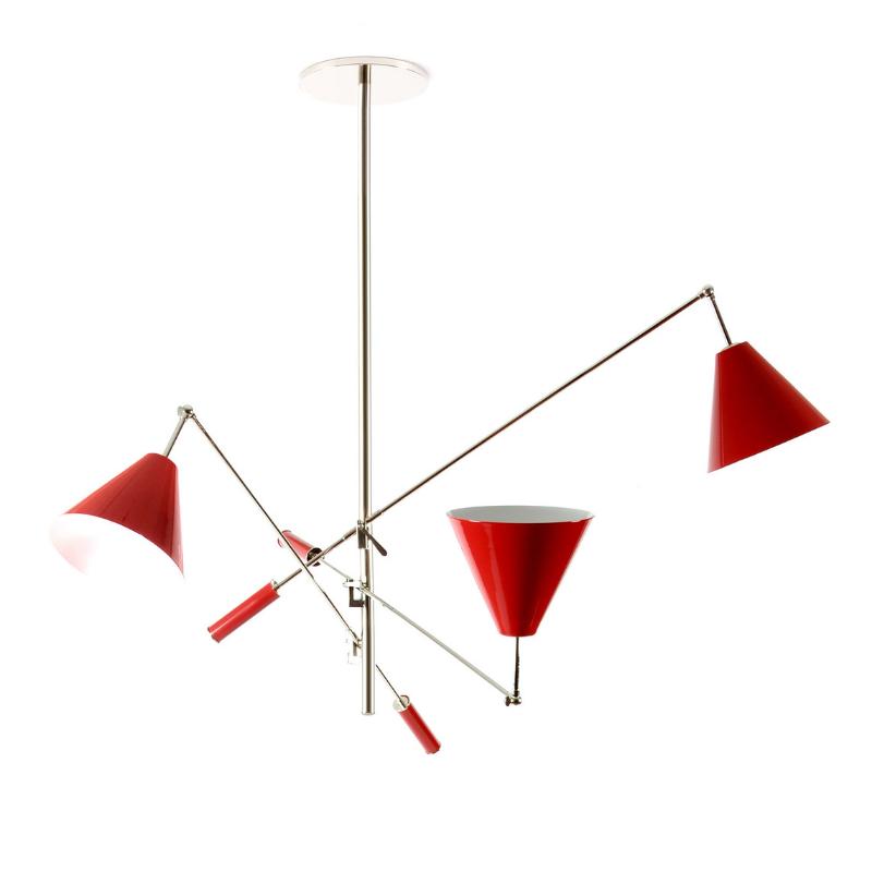 Lámparas Rojas Que Van Completar El Interiorismo de Tu Casa (7)