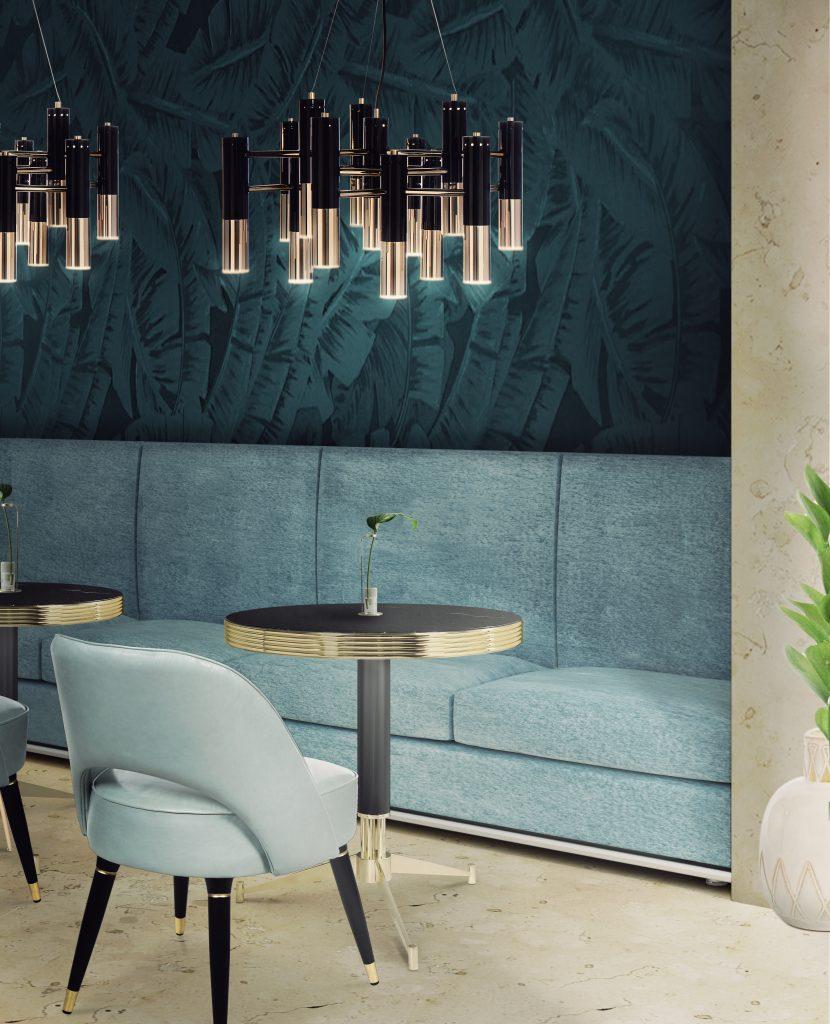 Shop The Look Luxury Mid-Century Lighting Meets Mid-Century Furniture 1