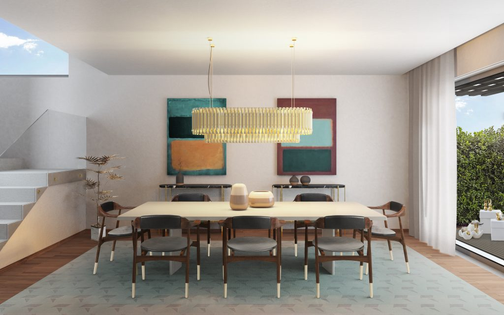 Shop The Look Mid-Century Suspension Lamps Are The Hit Trend 3