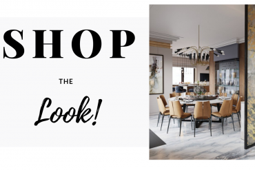 Shop The Look: Luxurious Interior Design Project