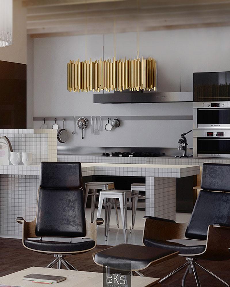 Cozinhas Simples e Elegantes 7 Dicas Para Iluminar O Espaço 2
