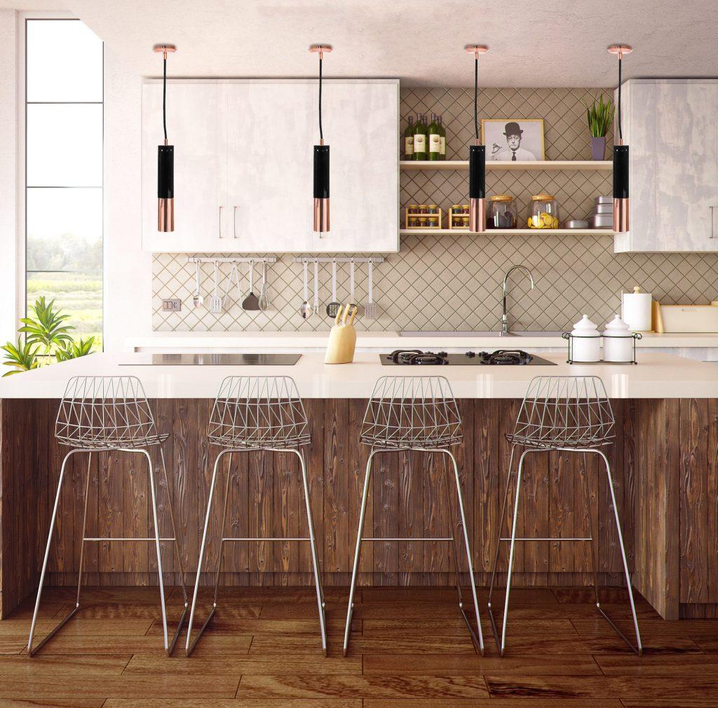 Cozinhas Simples e Elegantes 7 Dicas Para Iluminar O Espaço 5