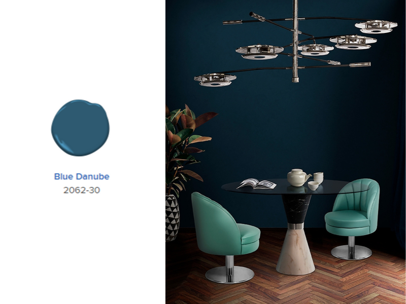 Benjamin Moore Color of The Year 2020: First Light 2102-70!