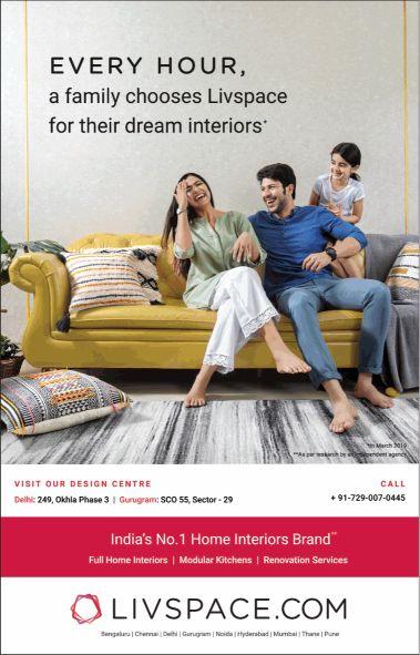 Livspace: Interior Design And Renovation Platform in India