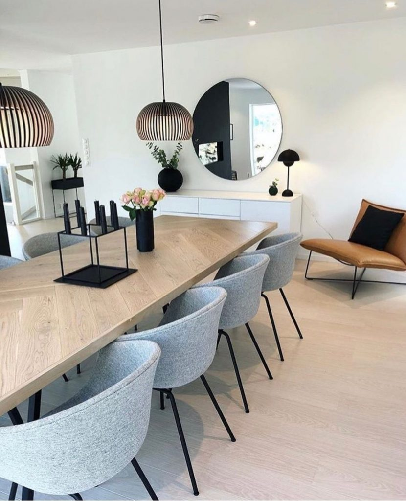 Dining Room Décor: changes that will make the most of limited space 4