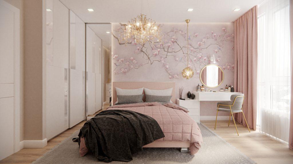 Pink bedroom your next décor big dream! 4