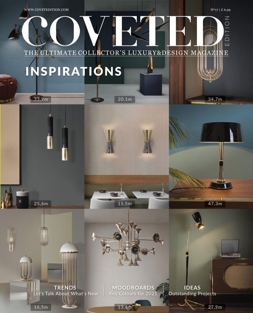 Hot This Week 🔥 Discover The Ultimate Luxury Design News and Trends of The New Edition of CovetED Magazine!