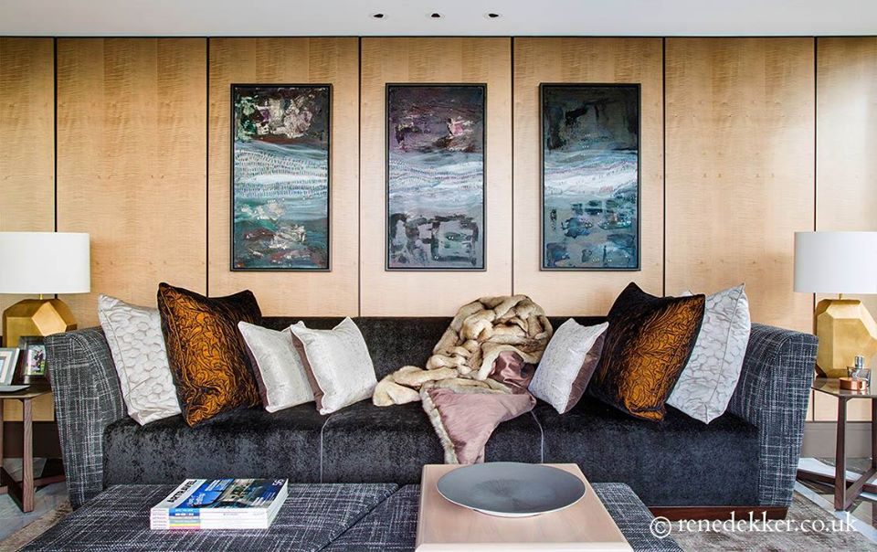 6 Living Rooms That Are The Crown Jewels Of René Dekker Design 💎