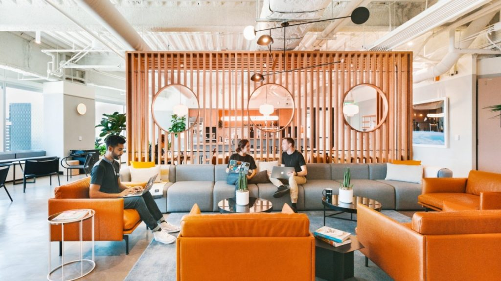 Everything You Need To Know About the Workspaces Of The Future 💼 An Award-Winning Project of WeWork Prague!
