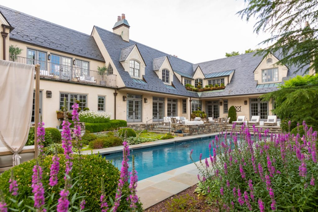 Get inside: T.J. and Lauren Oshie's mid-century styled mansion in Virginia