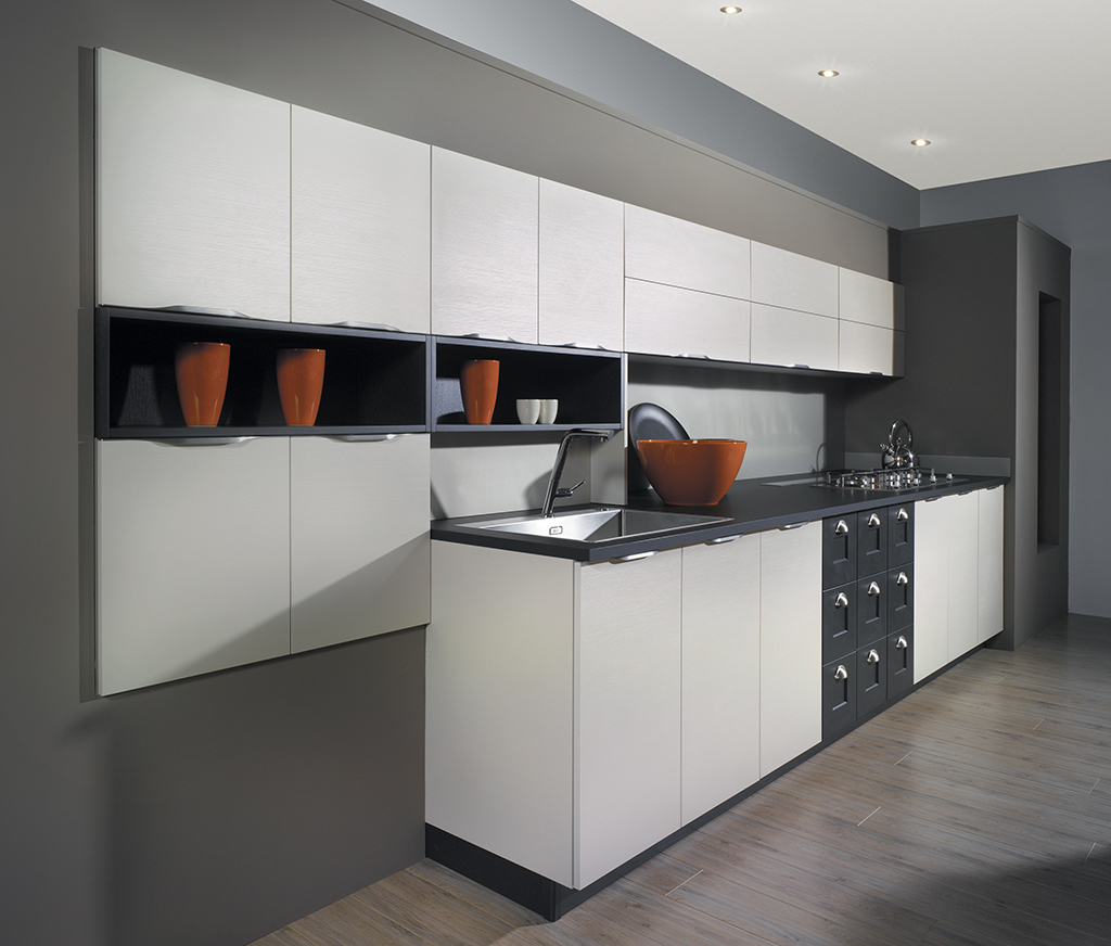 Pyram Will Make You Say Hello To These Modern Kitchen Cabinets, and Goodbye To Open Shelves!
