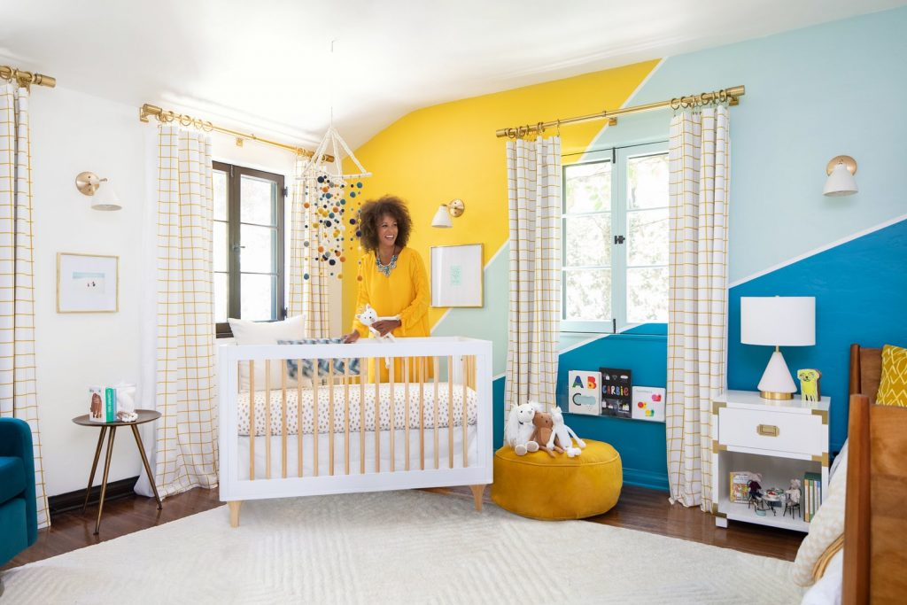 Get Inside: Modern Family Star, Jesse Tyler Ferguson Invited us to Check out His Son's Bright and Colorful Nursery Room!