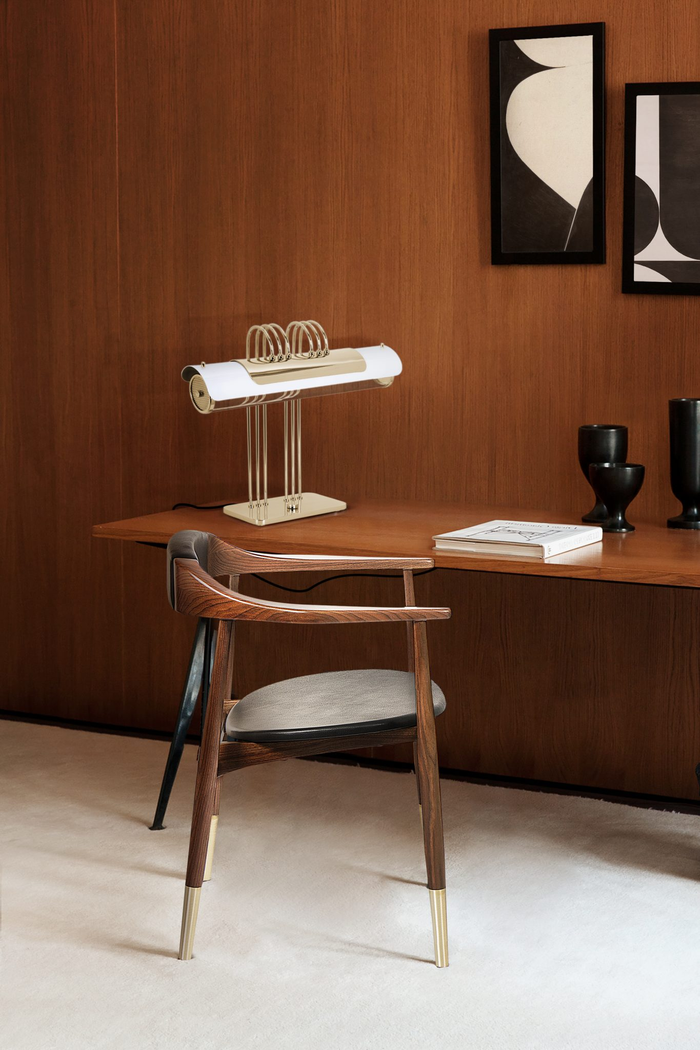 Magnific Midcentury Office By Delightfull