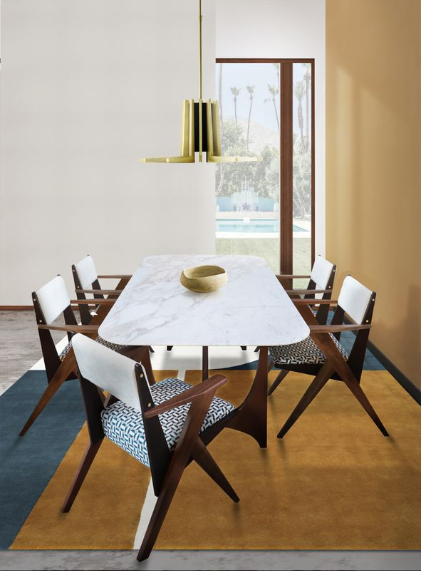 The Perfect Mid-Century Dining Room by Carlo Donati