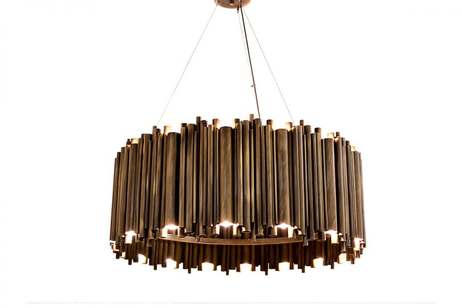 BRUBECK ROUND SUSPENSION LAMP