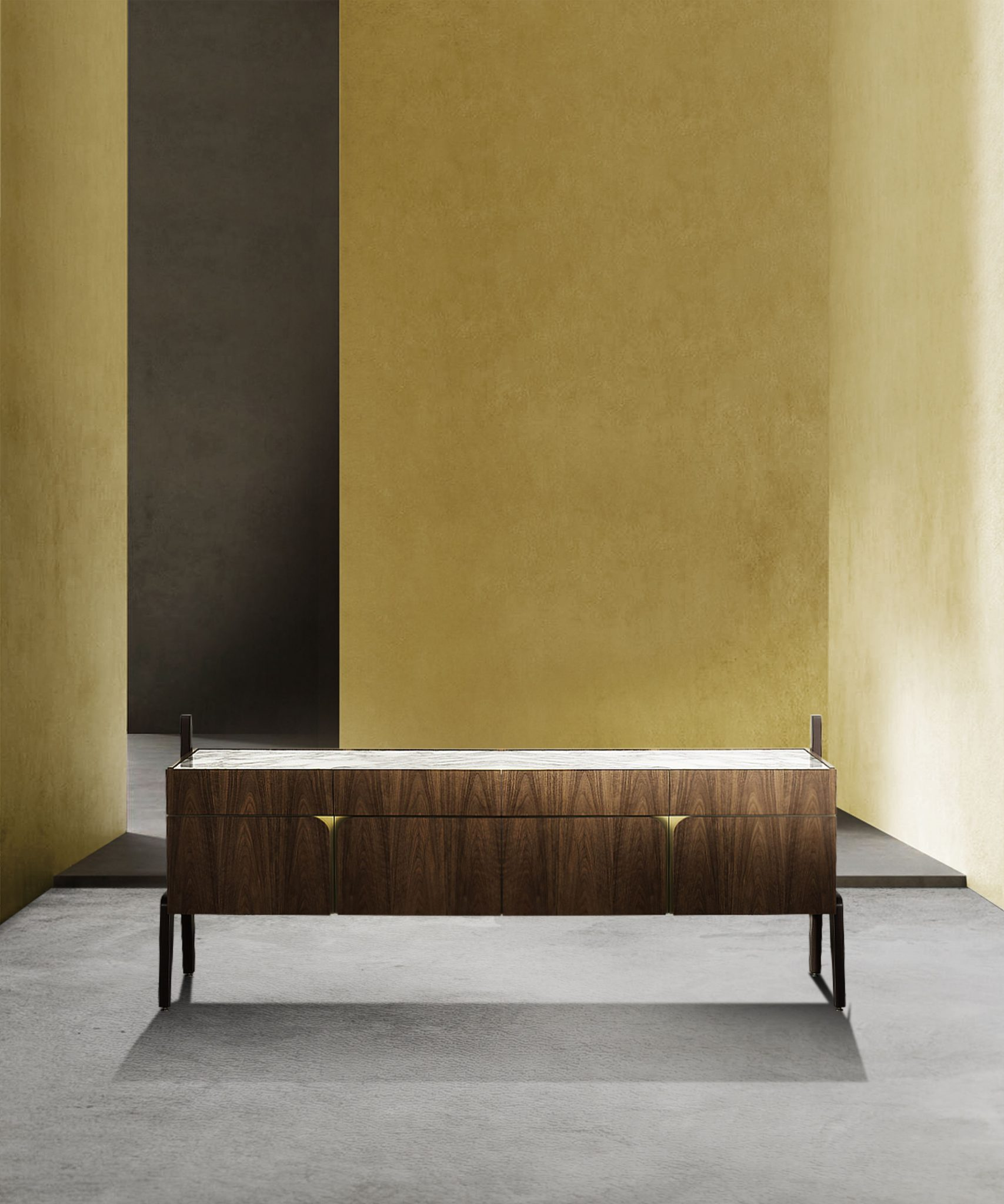 Sideboard as a Statement Piece: The New Collection by Carlo Donati