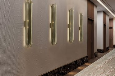 MID-CENTURY MODERN HALLWAY PERFECT FOR ANY HOSPITALITY PROJECTS