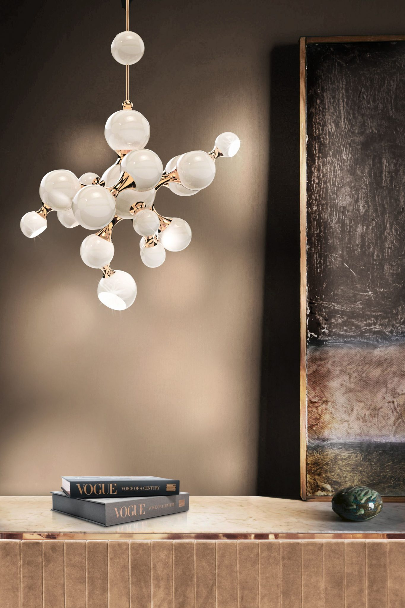 MODERN DESIGN PENDANT LAMP INSPIRED BY SCIENCE