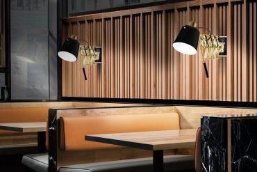 Mid-Century Modern Restaurant Lighting